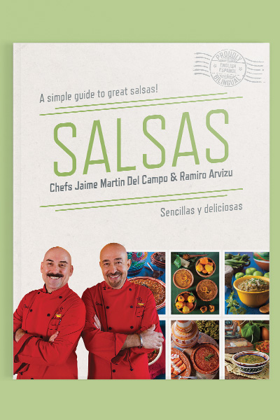 Book Design for Salsas: A simple guide to great salsas